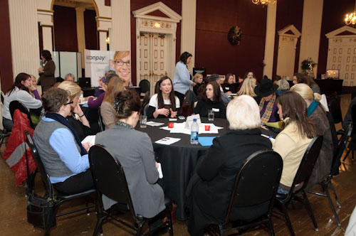Round Table Discussions with Johnna Wells (photo by Andie Petkus)