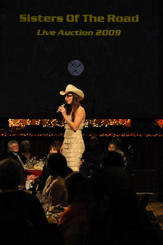Sisters of the Road, Live Auction with Ms. Wells {photo by andie petkus}