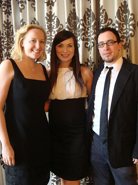 {Working the event from the BA360 team were (from left to right): Erin Doherty Ward, Johnna Wells, and Joshua Wells}