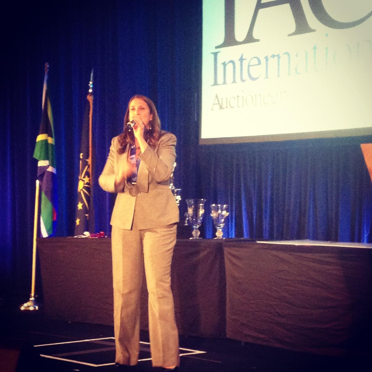 Megan McCurdy, 2013 IAC Champion!