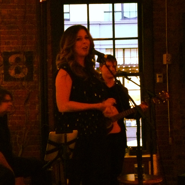 Rita Wilson performing at the No Kid Hungry Dinner at Irving Street Kitchen!